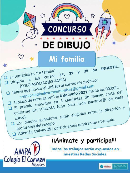 Concurso dibujo La Primavera 2021 - Infantil